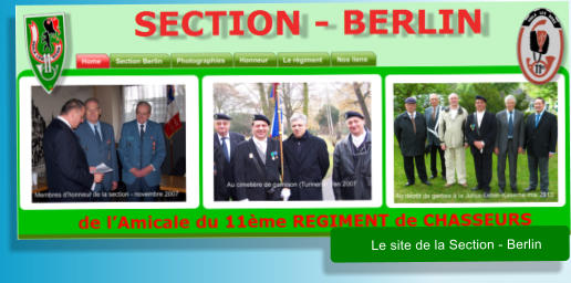 Le site de la Section - Berlin
